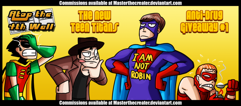 The New Teen Titans Anti-Drug Giveaway #1 – Welcome to Atop