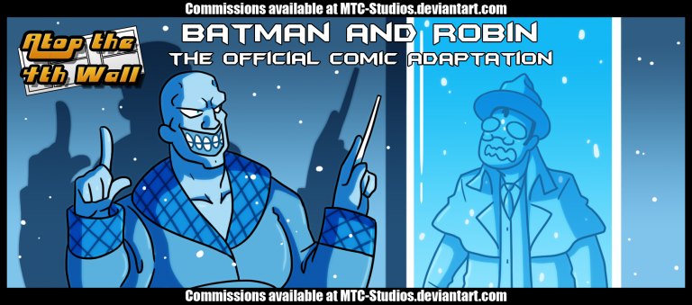 Batman and Robin Comic Adaptation